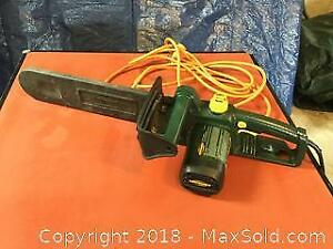 Yardworks Electric Chainsaw And Extension Cord