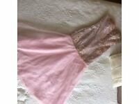 Pink Mermaid Prom / Evening / Cruise dress Size 10 - 12 - £40