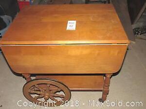 Maple Tea Cart - C