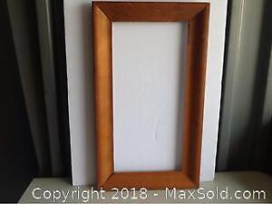 Large Antique Pine Frame