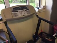 motorised treadmill in good condition. spare drive belt included