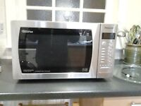 """Panasonic """"Inverter"""" Microwave Oven NN-CT776SBPQ, Dimension 4, Turbo Bake and Grill, Catalytic Clean"""