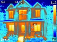 Thermographie, inspection toiture, isolation, infiltration d'eau
