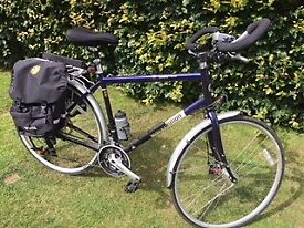 Edinburgh Bicycle Co-operative Revolution Country Premier '15 Metallic Blue 58cmTouring Bicycle