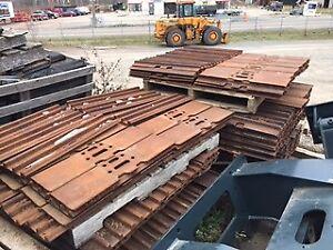 Lot de pads de traction de 27 po d'excavatrices