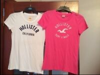 Two Ladies Hollister T-shirts