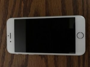 Price reduced Iphone 6- 16gb silver sasktel carrier.