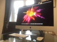 iMac Retina 5K, 27-Inch, 24GB RAM, 1Tb Fusion, 3.2 GHz intel Core i5 + software packages