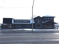 Fox and Fiddle - building & land for sale