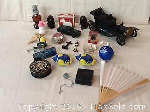 Lot Of Collectibles And Knock Knacks