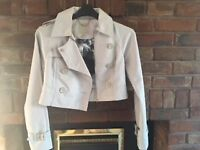 Ted Baker double breasted biker Jacket size 6