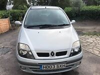 RENAULT MEGANE SCENIC FIDJI DCI 2003 DIESEL MOT JULY 2019 ECOMICAL AND RELIABLE SERVICE HISTORY 103K