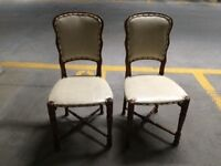 4 Antiques Chairs in excellent condition