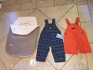 J.J. Cole Original Bundle me Bunting Bag for winter & Infant Osh Kosh Clothing Lot
