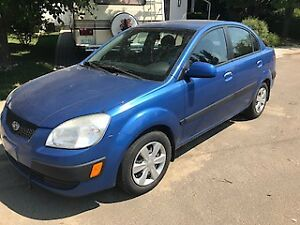 2006 Kia Rio 4 door Sedan