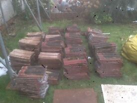 30m2 Approx 300 roof tiles