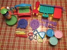 Playdoh BBQ and Pizza Sets