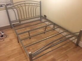 Nice double bed metal frames x2