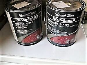 Unopened - Beauti-Tone Wood Shield Acrylic Wood Stain (Rosemary)