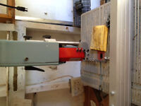 Ban Saw, Drill Press and a Table Saw
