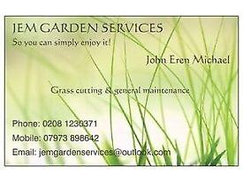 JEM Garden Services - Grass Cutting, Hedge Trimming, General Maintenance