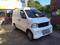 Daihatsu Extrol Van. White Low Mileage 2006