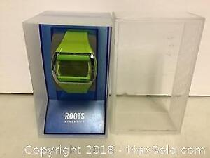 Roots Green Athletic watch