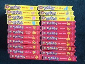 22 pokemon vhs videos
