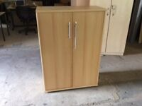 Beech storage cupboard