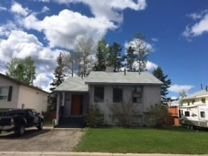 Tumbler Ridge House For Rent