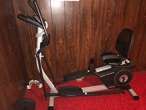 ProForm Hybrid Trainer Elliptical Bikes