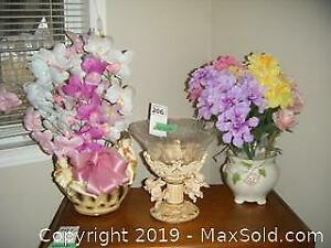 Artificial Flowers And Pots A
