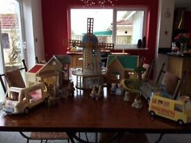 Sylvanian Family Collection - over 30 items