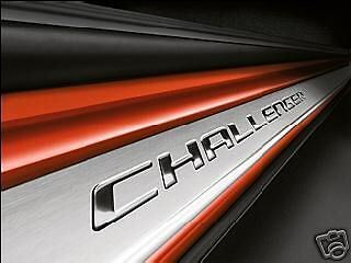 08-14 Dodge Challenger Mopar Door Sill Guards Sills Plate OEM