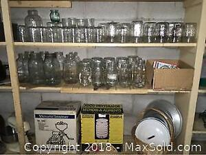 Mason Jars And Canning Accessories