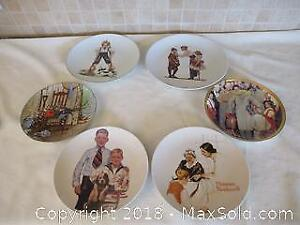 Norman Rockwell Plates A