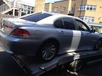 04 BMW 730 DIESEL FULL CAR BREAKING FOR ANY PARTS CALL ON