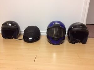 Motorcycle helmets - casques moto