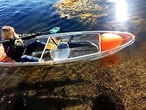 Just in time for Xmas!  Introducing the Clear Adventure Kayak