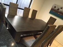 Nick Scali Dining set with 8 chairs Harrison Gungahlin Area Preview