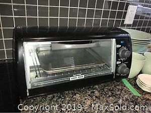 Black And Decker Toaster Oven A