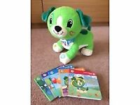 Leapfrog Read With Me Scout Dog With 5 Interactive Books Leap Frog