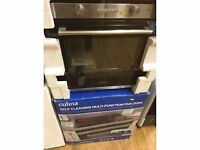 "CULINA Steel Electric Self-Clean Multifunction Oven ""NEW"""