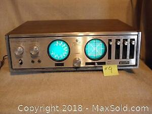Vintage Retro Sanyo AM/FM Stereo Receiver Model DXR 5470. 40 Watts.
