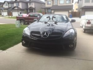 2009 Mercedes-Benz SLK55 AMG Convertible Roadster