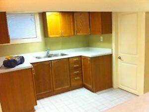 Included Very Clean Basement Unit