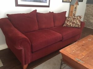 red couch - like new