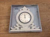 NEW Shabby Chic / Vintage Clock.