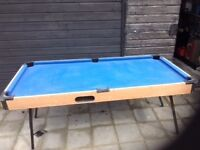 Pool Table - Procee3ds go to chairty SPLICE