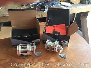 Pair Of Boxed Abu Garcia Fishing Reels